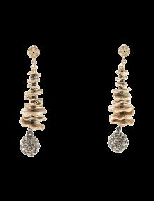 Golden Goddess Drop Earrings