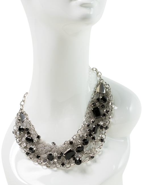 Bejeweled Collar Necklace