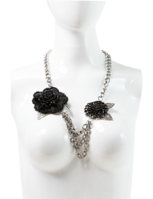 Oversize Floral Necklace