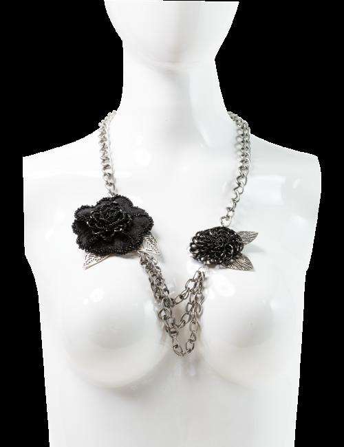 Oversize Floral Necklace